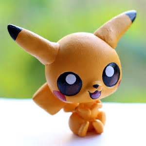 pikachu pokemon littlest pet shop custom lps customs