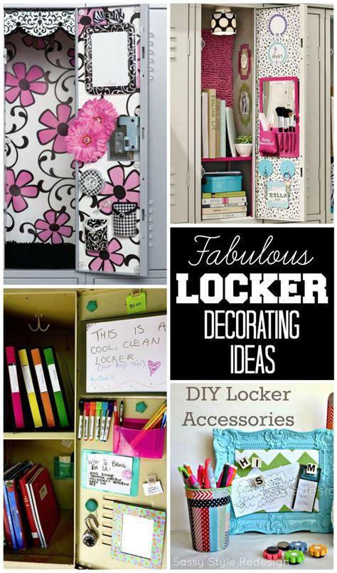 fantastic locker decoration ideas   printable