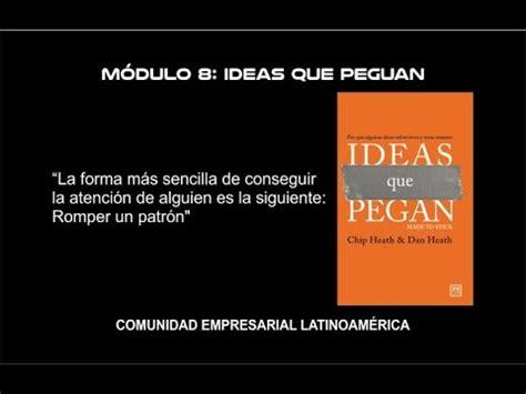 ideas que pegan pdf m 243 dulo 9 antonio restrepo ideas que pegan youtube