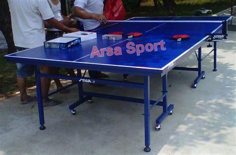 Meja Pingpong Lokal jual perlengkapan tenis meja ping pong arsa sport