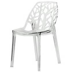 Modern Clear Dining Chairs Somette Modern Flora Clear Cut Out Transparent Plastic Dining Chair Overstock Shopping Great