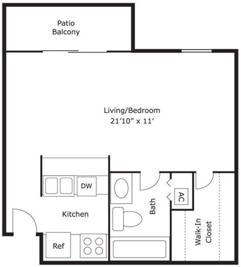 440 square feet apartment 0 bed 1 bath 440 sq ft bellagio apartments in