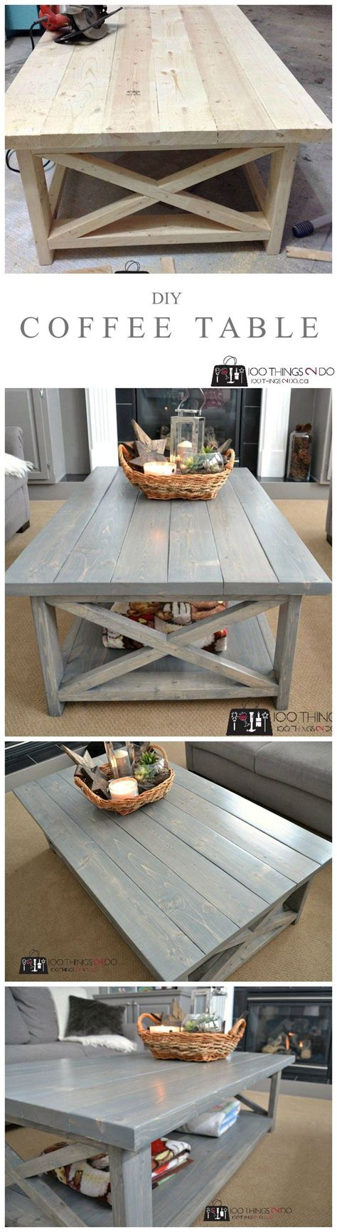 diy rustic coffee table best 25 rustic living room furniture ideas on