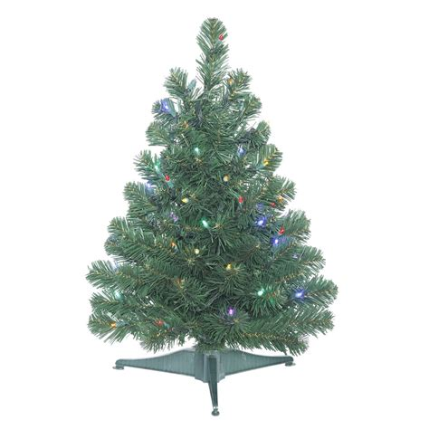 vickerman 26 quot prelit oregon fir artificial christmas tree