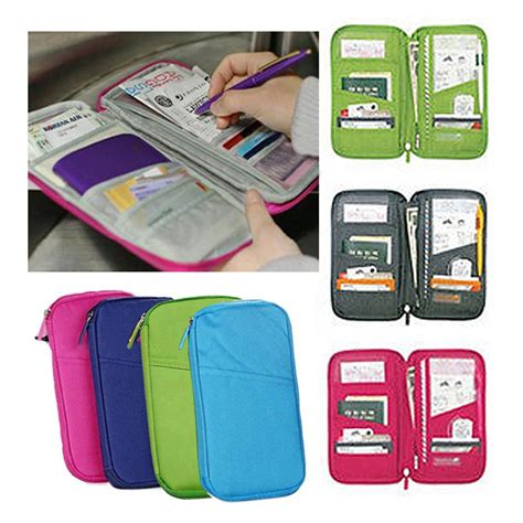 Pasport Bag Organizer Tas Pasport Pasport Holder Dompet Pasport 1 multifunctional bags travel passport holder ticket wallet handbag id credit card organizer