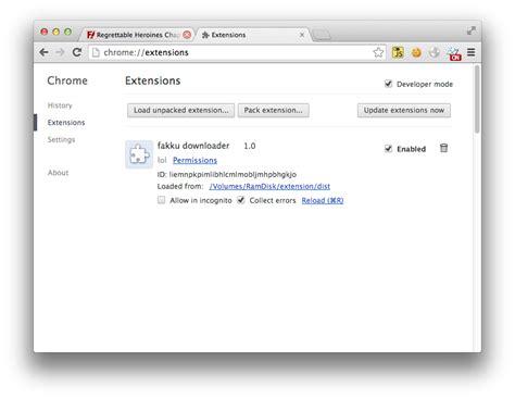 chrome extension downloader github realkamesennin fakku downloader chrome fakku
