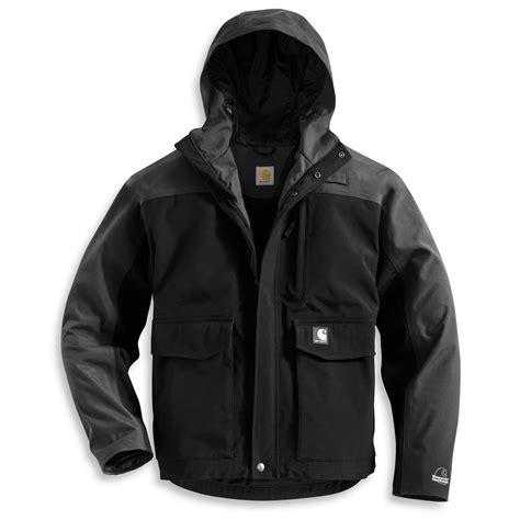 Jaket Reg carhartt 174 waterproof breathable cascade jacket regular 174303 insulated jackets coats at