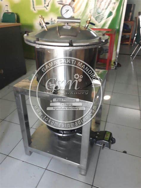 Panci Presto Agrowindo mesin presto bandeng kapasitas 20 kg toko mesin gama sakti