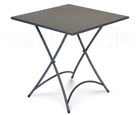 tavoli pieghevoli in alluminio belindo tavolo pieghevole metallo 70x70 cm tavoli