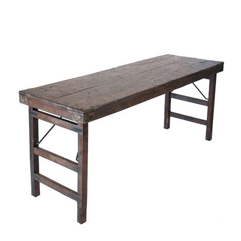 vintage folding table celebrations rentals