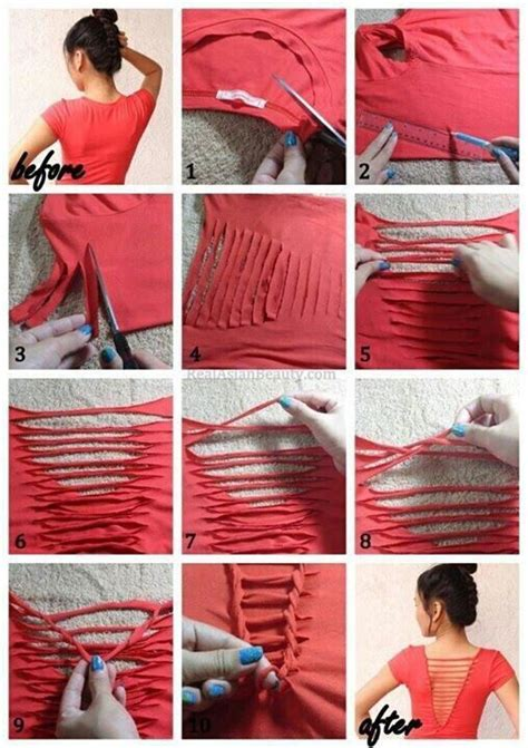 Diy Clothing Ideas by 40 Simple No Sew Diy Clothing Hacks Designs And Ideas