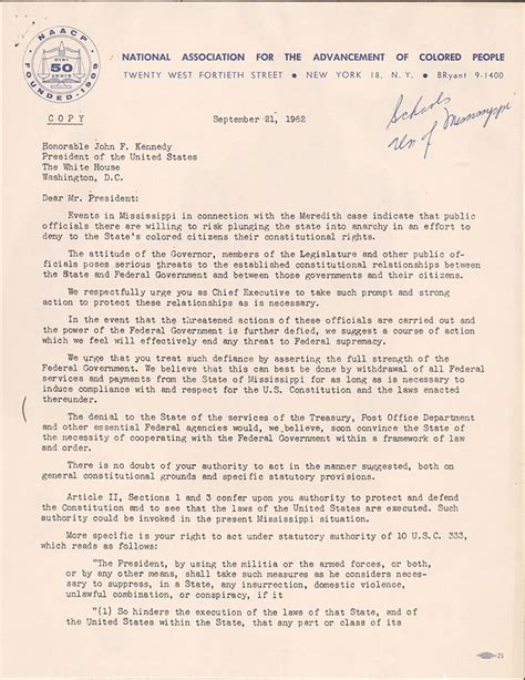 Appeal Letter Barred The Civil Rights Era Naacp A Century In The Fight For Freedom Exhibitions Library Of Congress