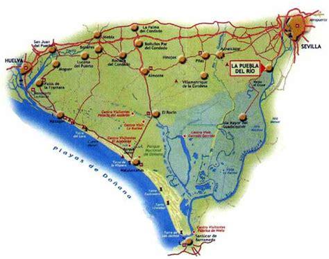 mapa rios huelva