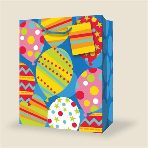 A Birthday And A Discount From Butler Bag by Wholesale Medium Birthday Gift Bags