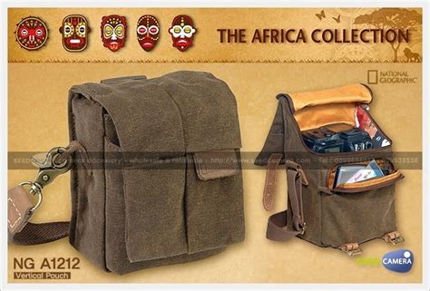 National Geographic Ng A1212 national geographic africa a1212 vertical pouch