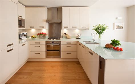 White Glass Countertops by White Glass Countertops Kitchen With Blue