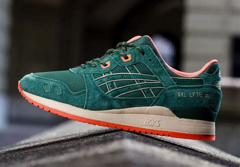 Asics Gell Lyte Iii Green For Asics Gel Lyte Iii Green Orange Sneakernews