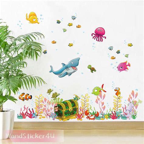 Wandtattoo Kinderzimmer Aquarium by Wandtattoo Fische Unterwasserwelt Kinderzimmer Bade