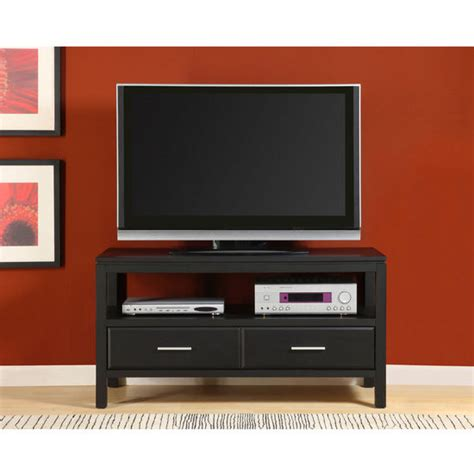 50 tv entertainment center entertainment centers 50 quot tv stand in black ash by altra