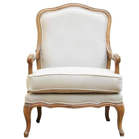 armchair in french provincial french linen armchair 25 off home culture