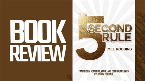 libro avoid being a second the 5 second rule book review youtube