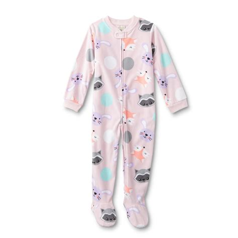 Sleeper Pajamas by Wonderkids Toddler Fleece Sleeper Pajamas Animal