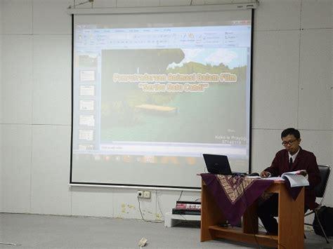 film kartun koko ujian tugas akhir kekaryaan mahasiswa koko is prayogo