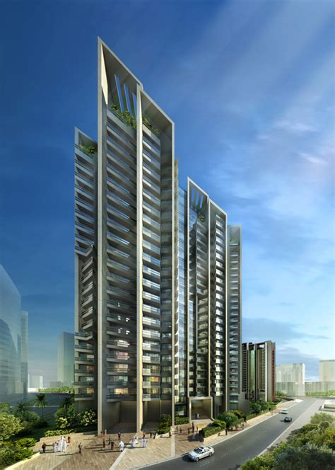Mixed Use Floor Plans reem island residential towers foster partners