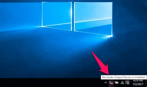 No Sound On My Asus Laptop Windows 10 how to fix no audio output device is installed windows 10 error