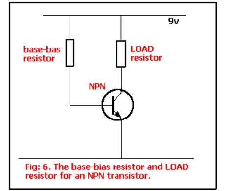resistor bias transistor index www talkingelectronics