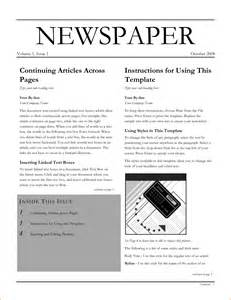 microsoft word newspaper template 6 newspaper template word teknoswitch