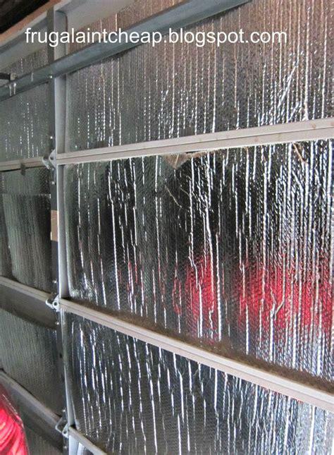 25 best ideas about garage door insulation on