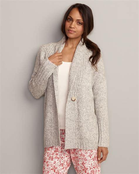 sleep sweater eddie bauer sweater grey