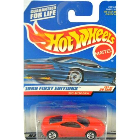 wheels 1999 editions 360 modena global diecast direct