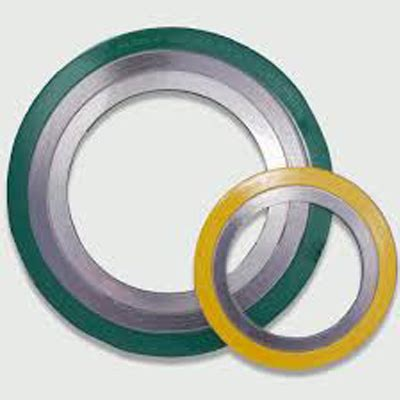 Spiral Wound Gasket 20150 ss 316l spiral wound graphite gasket cs out ring class 300