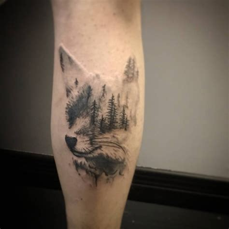 40 creative amp unique landscape animal tattoo designs