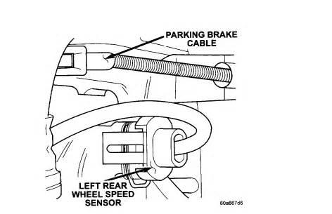 Brake System Dodge Caravan 2003 Dodge Grand Caravan Abs Light My Mechanic Says He