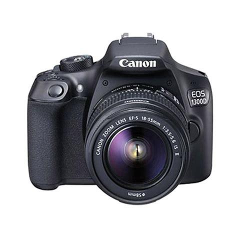 Kamera Canon Eos 1100d Kit Ef S18 55mm jual canon eos 1300d kit ef s 18 55mm is ii kamera dslr hitam harga kualitas
