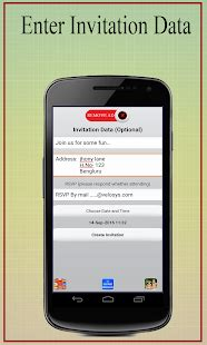 predefined templates for android apps party invitation card maker android apps on google play