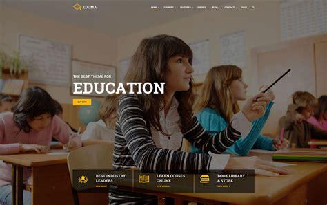 theme blogger education 32 awesome responsive wordpress education themes 2016