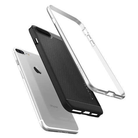 Original Spigen Iphone 7 Neo Hybrid Satin Silver 042cs20520 spigen neo hybrid iphone 7 plus satin silver