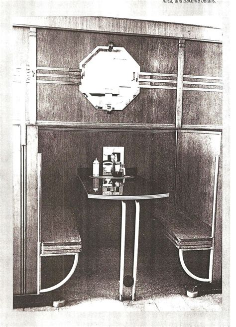 art deco kitchen with 1 quot x 2 quot trim traditional kitchen art deco seating booth or nook from a diner art deco 01