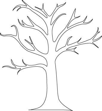 printable family tree stencil tree stencil jesen pinterest trees tree stencil and