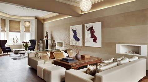 Luxury Home Interior Designers Kensington House High End Interior Design Ch