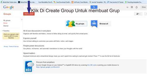 membuat blog terkenal di google membuat forum diskusi blog di google groups adje desain