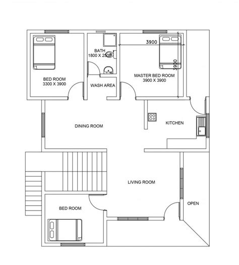ground floor plan for home double story house plan 106 from dwgnet com