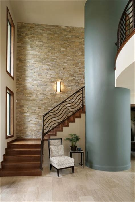 Stacked Stone Interior Wall Design Pictures Remodel Home Interior Wall Design