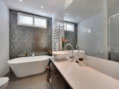ensuite on pinterest the block tile and feature walls