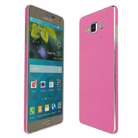 Gliter For Samsung A7 Color Pink skinomi techskin samsung galaxy a7 pink carbon fiber skin protector