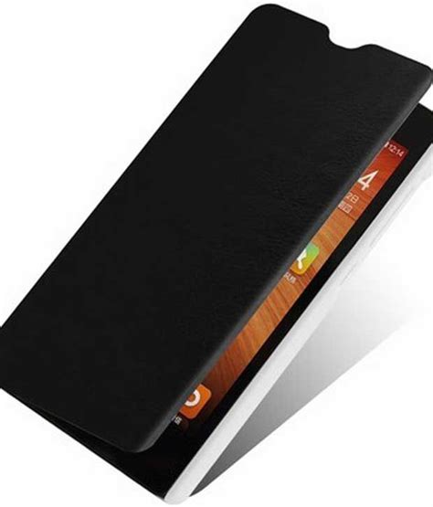 Flip Cover Xiaomi Redmi 1s Xiaomi 1s Redmi 1s original flip cover for xiaomi redmi 1s black flip covers at low prices snapdeal india